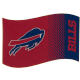 Buffalo Bills Large NFL Logo Fade Flag (bst)